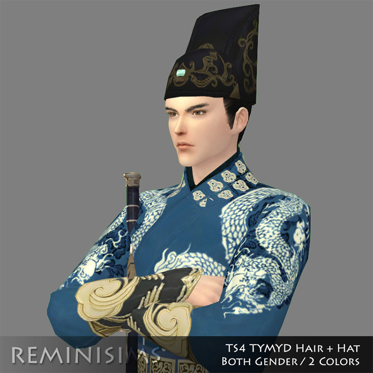 Kabuto Hat Sims 4 CC