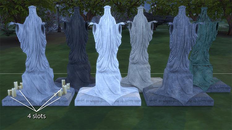 Gravestones & Mortuary Sims 4 CC