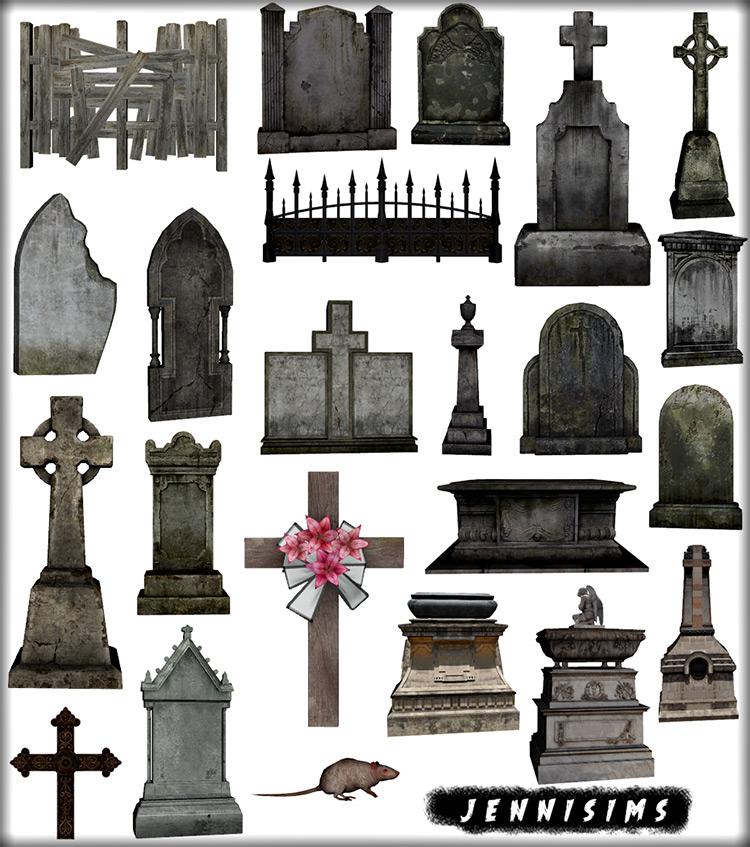 Graveyard Collection TS4 CC