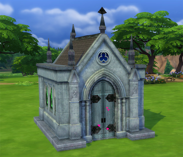 Mausoleum Remake for Sims 4