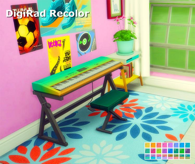DigiRad Recolor Sims 4 CC