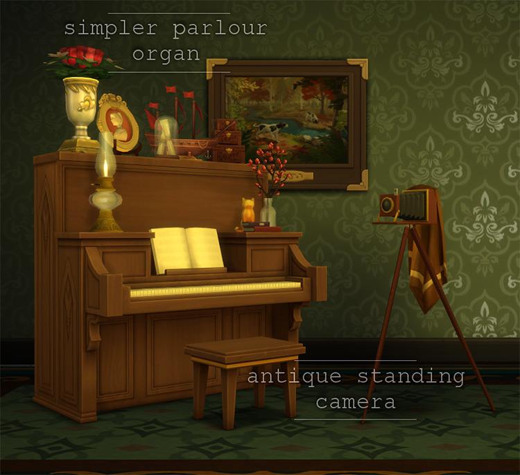 Simpler Parlour Organ TS4 CC