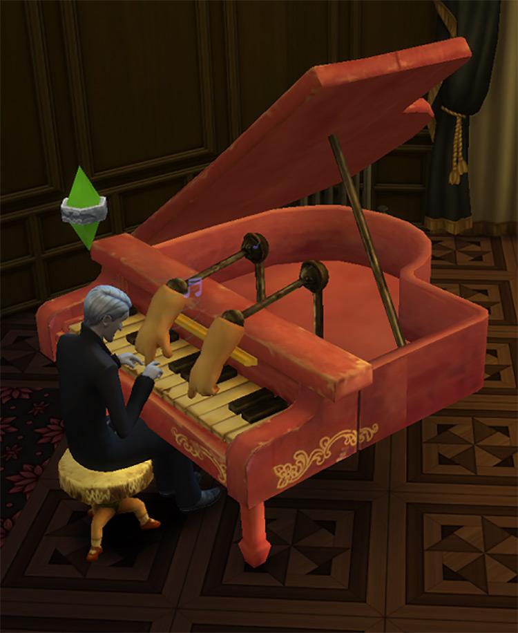 Dollhouse Piano TS4 CC