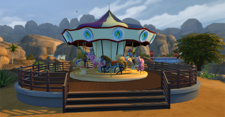Carousel for Sims 4