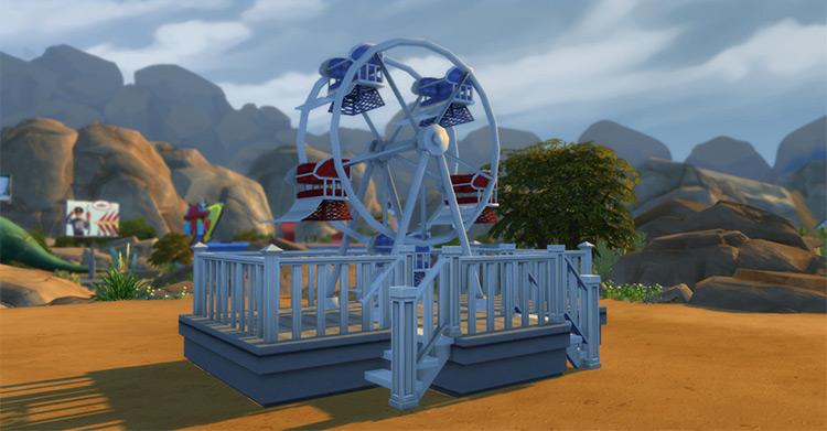 Ferris Wheel Sims 4 CC