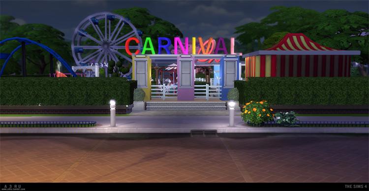 Carnival Decor Set + Lot TS4 CC