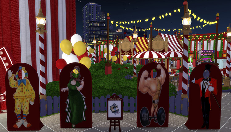 Circus Standee for Sims 4