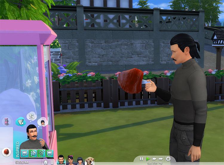 Cotton Candy Machine CC - The Sims 4