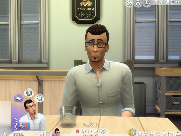 Drink, Drank, Drunk for Sims 4