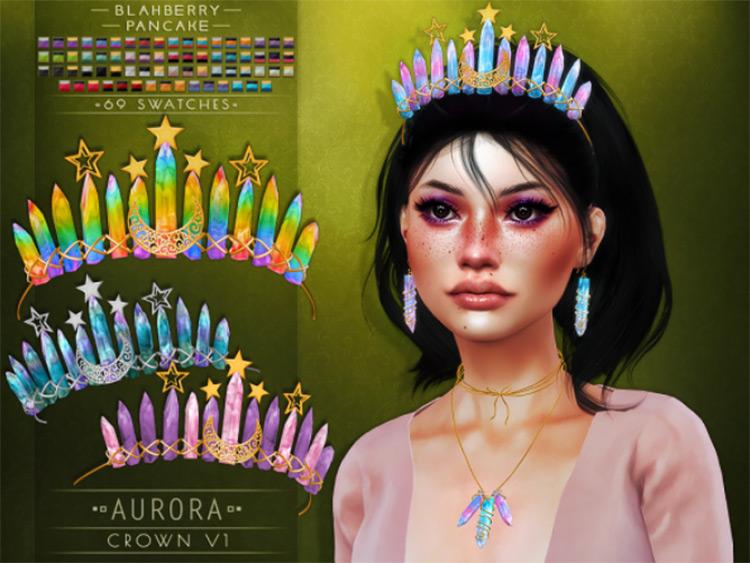 Aurora Crown V1 Sims 4 CC