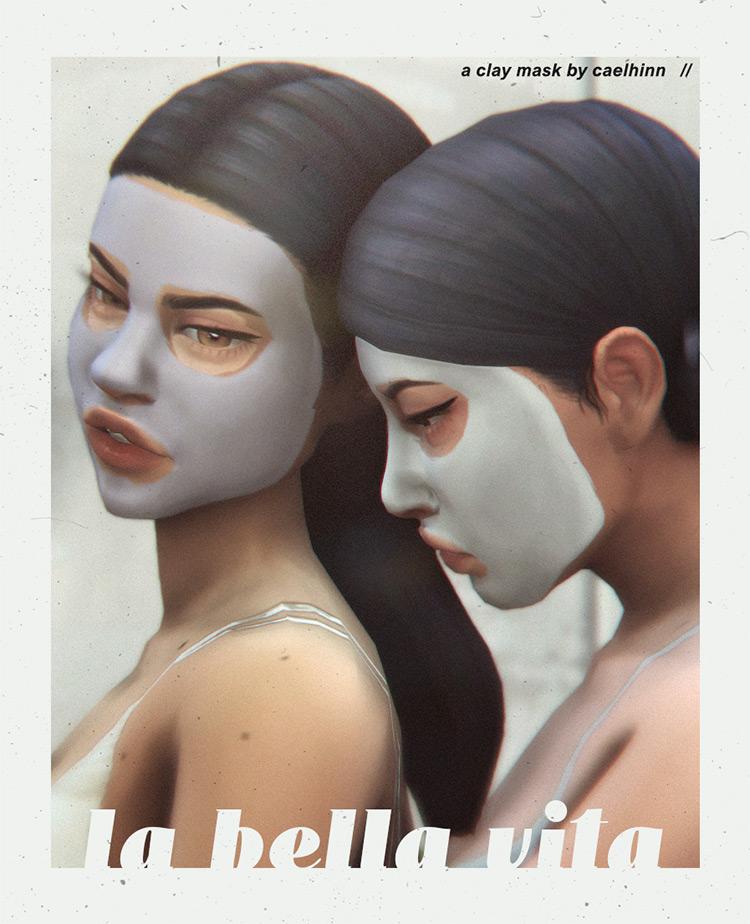 Clay Mask Sims 4 CC