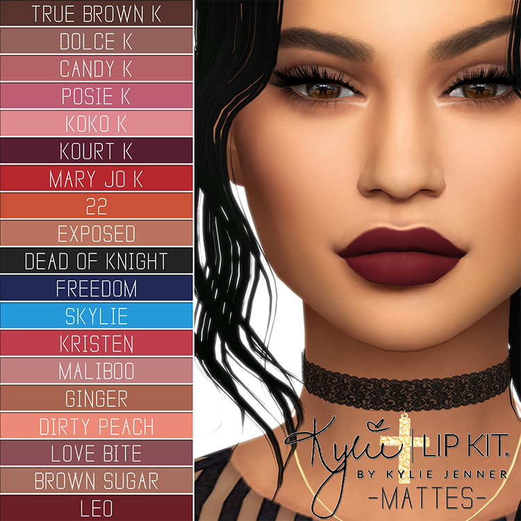 Kylie Cosmetics Lip Kit - Ultimate Collection TS4 CC