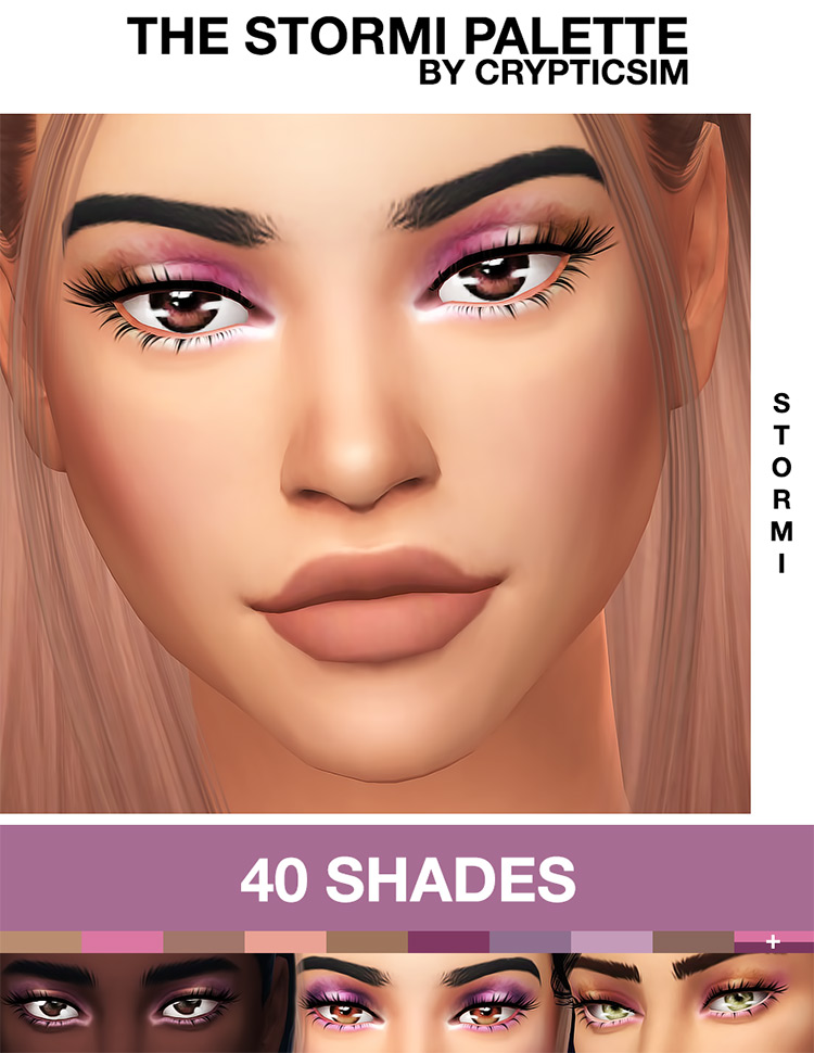 The Stormi Palette for Sims 4