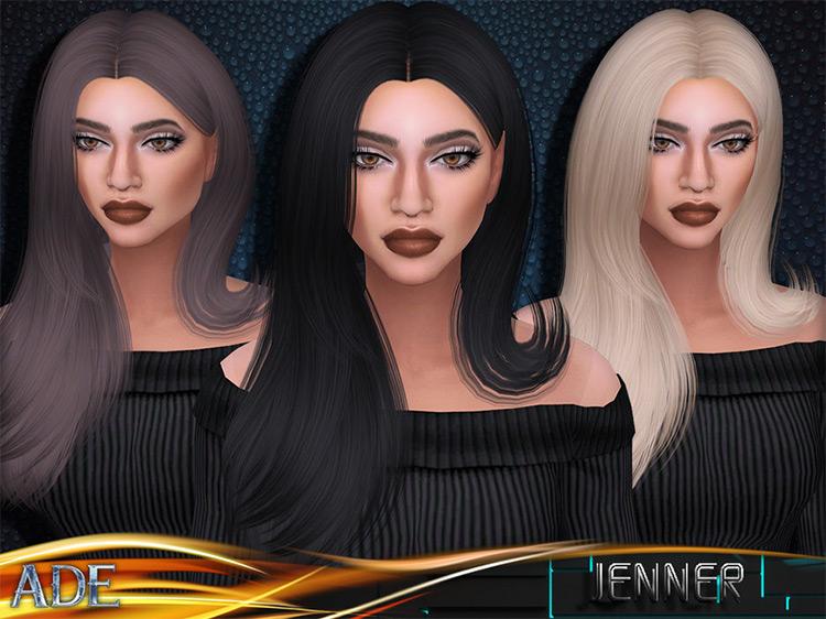 Jenner Hair Sims 4 CC