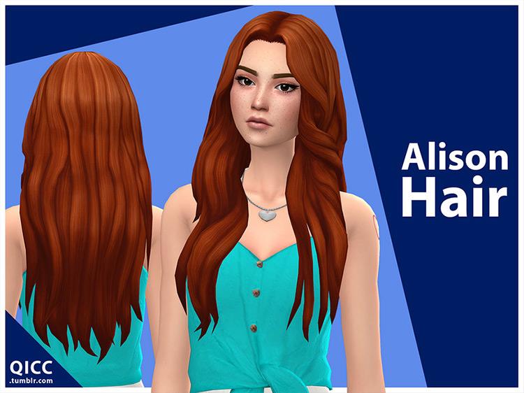 Alison Hair Sims 4 CC