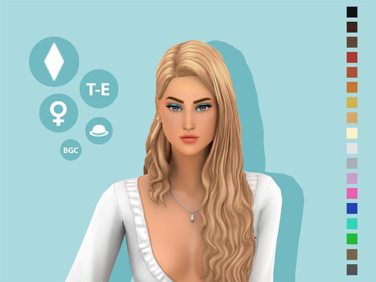 Goddess Hairstyle TS4 CC