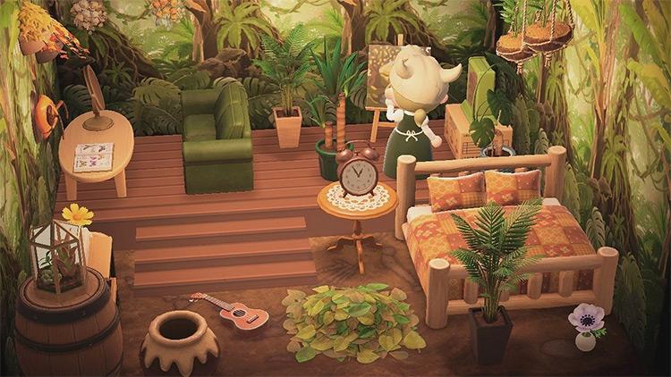 Nature Fae Bedroom Idea - ACNH