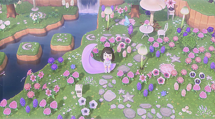Magical Fairy Garden Idea - ACNH