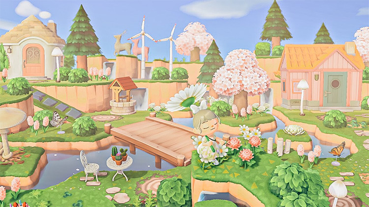 Fairycore Village Design Idea - ACNH