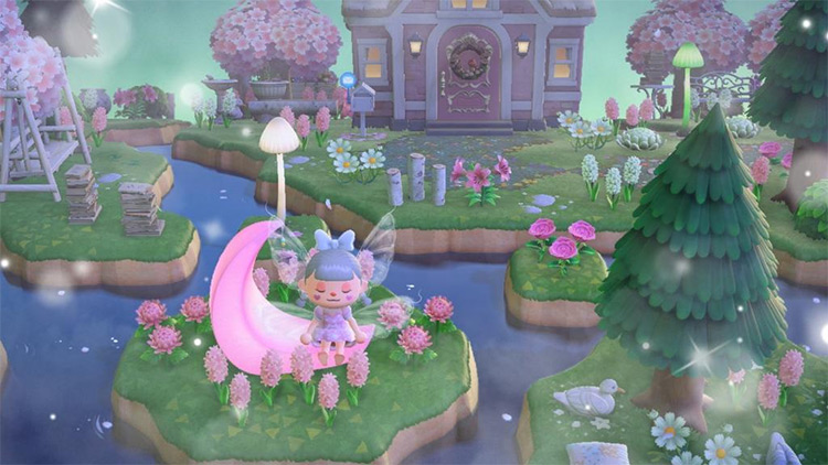 Fairycore Yard Design Idea - ACNH