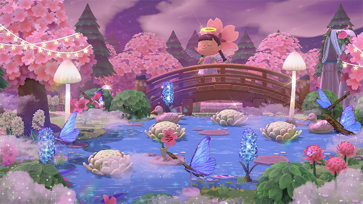 Fairycore Magic Bridge Idea - ACNH