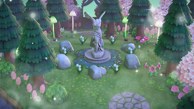 Fairy Shrine Design - ACNH Idea