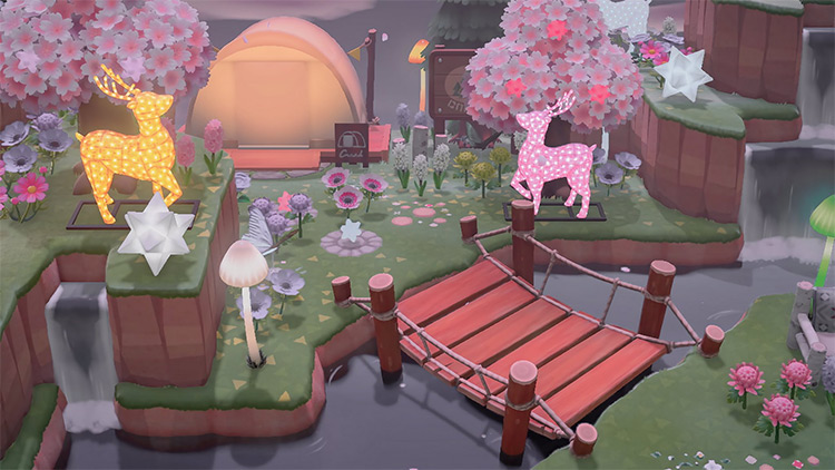 Fairy Campsite - ACNH Idea