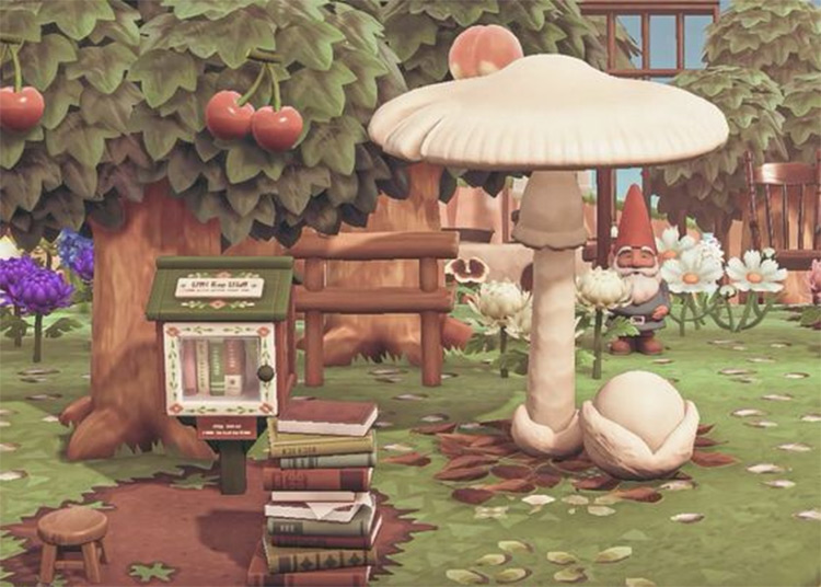 Fairy Mini Library Idea - ACNH