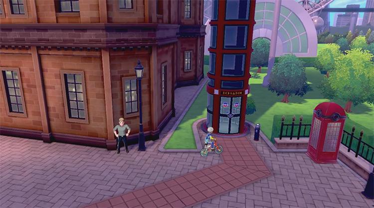 Galar Victory Road Pokemon SWSH game screenshot