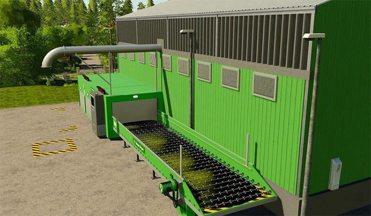 System-Tec Grass Dryer Farming Simulator 19 Mod