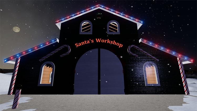 Santa's Workshop v1.0 Farming Simulator 19 Mod