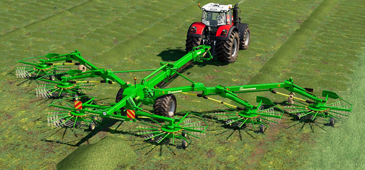 Krone Swadro 2000 Windrower Mod for FS19