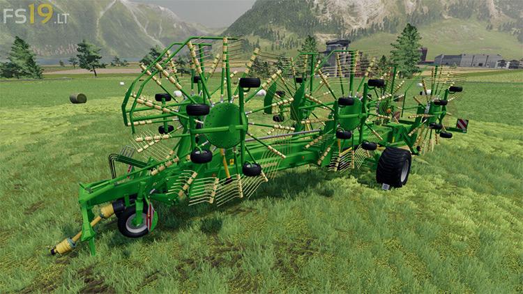 Krone Swadro 2000 V 1.1 Mod for FS19
