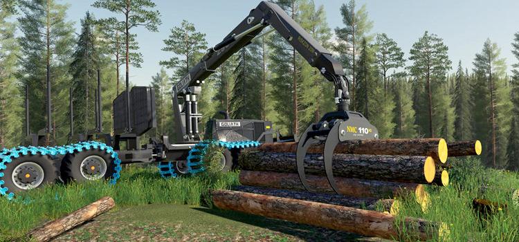 NMC Goliath Logging Machines Mod for FS19