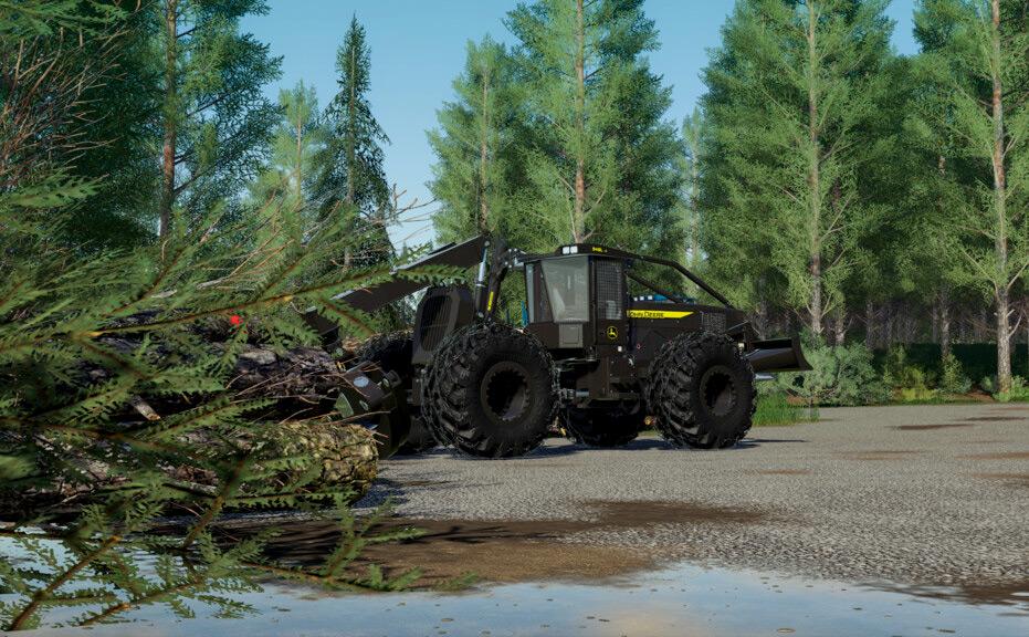 John Deere 948L-II Mod for Farming Simulator 19