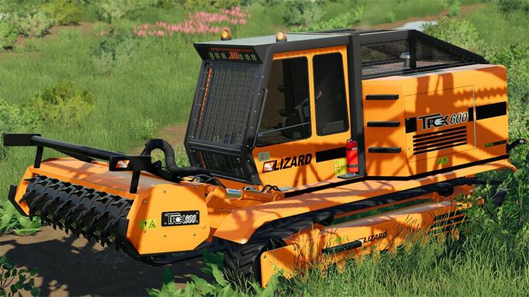 LIZARD Trex600 v1.1 FS19 Mod