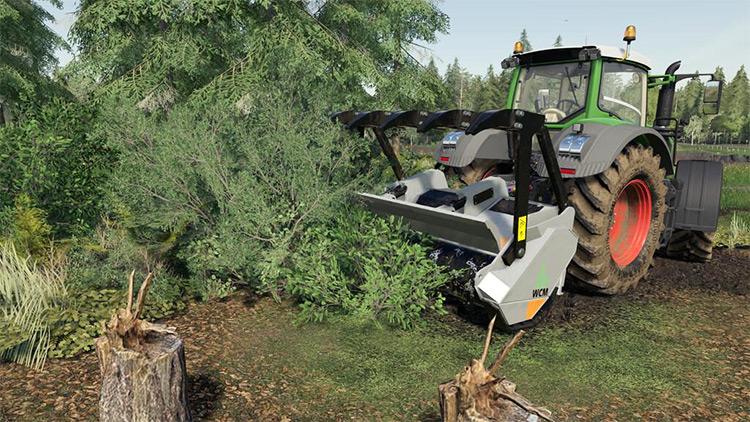 WCM Forest Mulcher v1.0 Farming Simulator 19 Mod