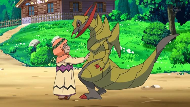 Haxorus Pokemon in the anime