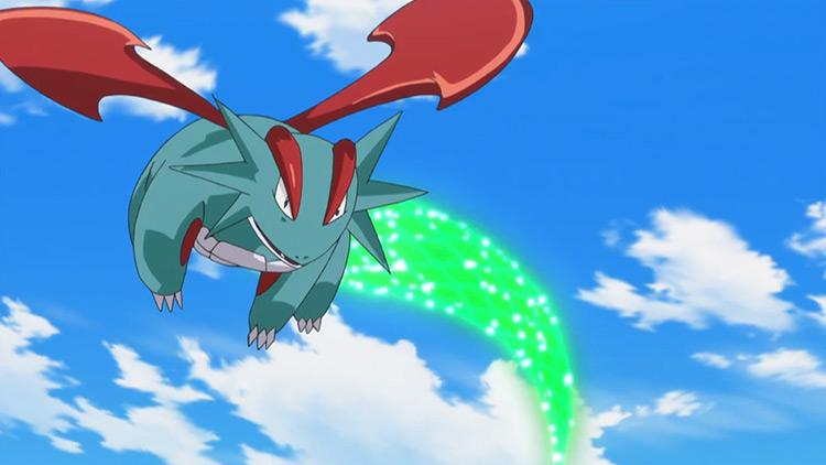 Salamence from Pokemon anime