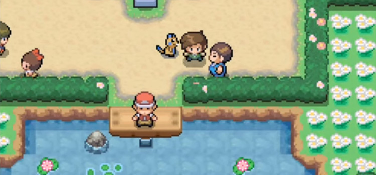 Pokemon Uranium Town Overworld Screenshot