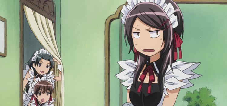 Misaki and Maid Characters - Maid Sama Screenshot