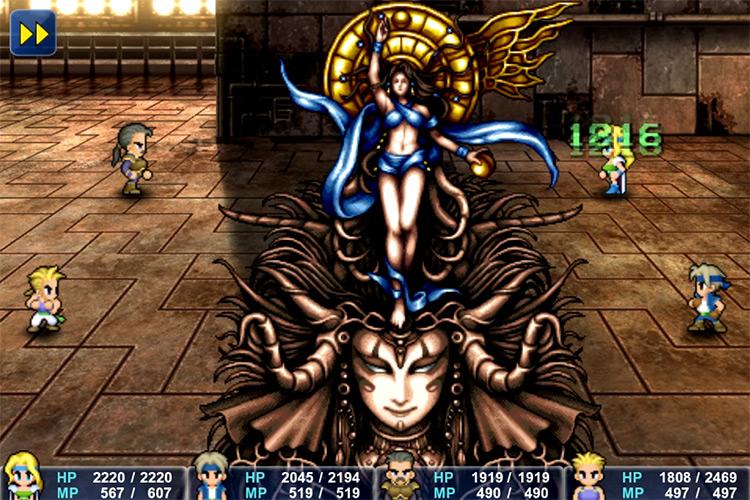 Goddess Boss Battle in FF6