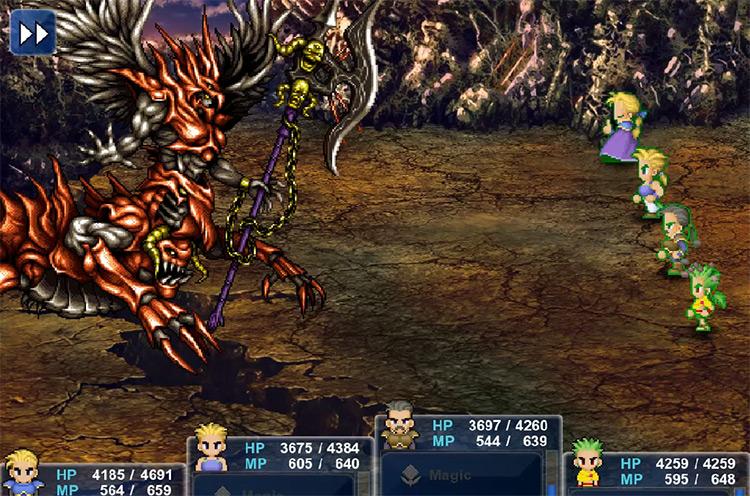 Demon Boss Battle in FF6