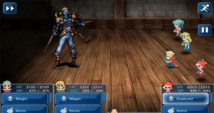 Magic Master Boss Battle in FF6