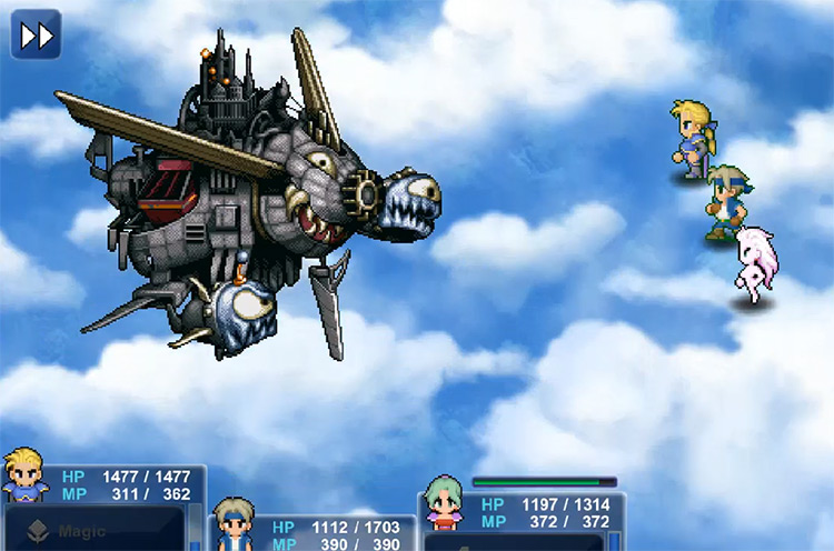 Air Force Boss in FF6
