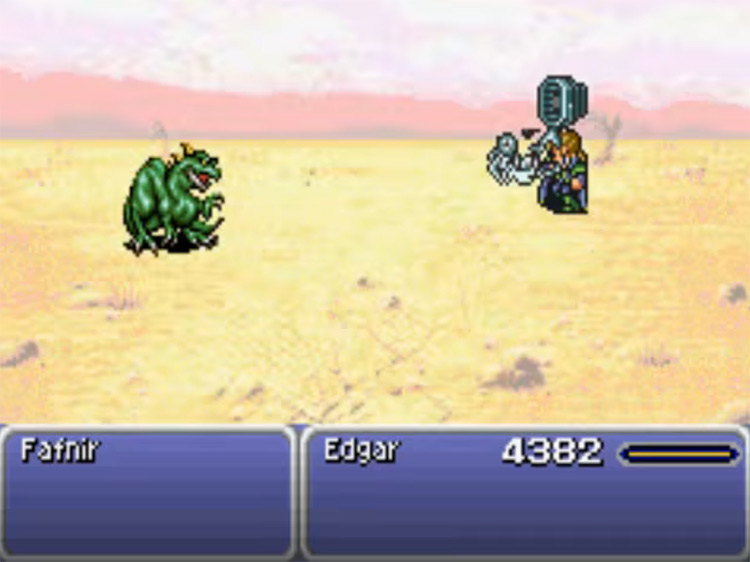 Flash Tool in FFVI