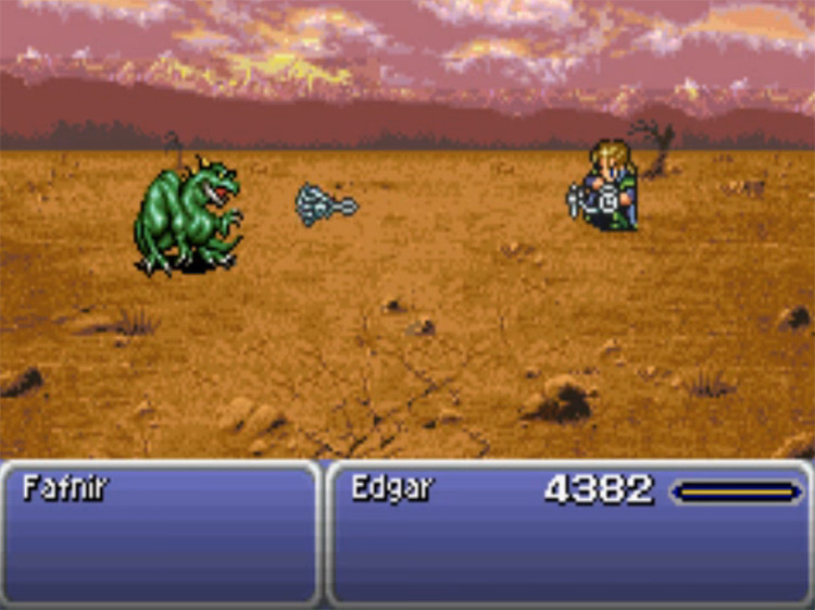 Air Anchor - Edgar's Tool in FF6