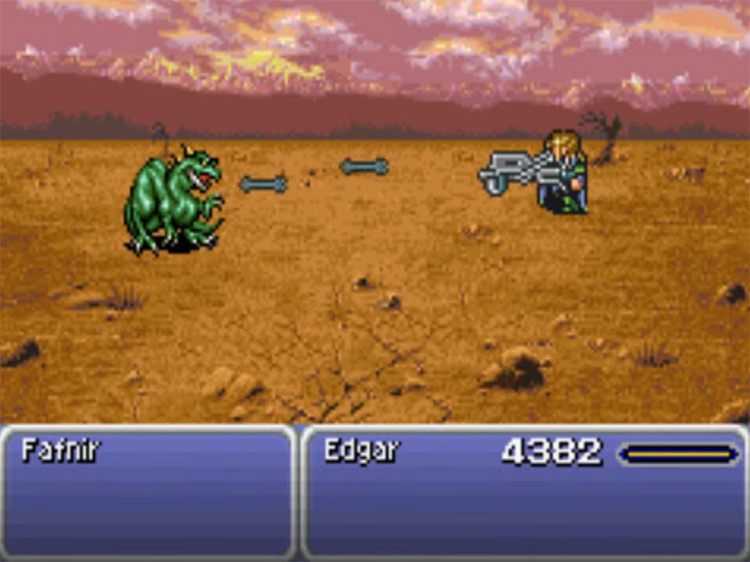 Auto Crossbow in FFVI