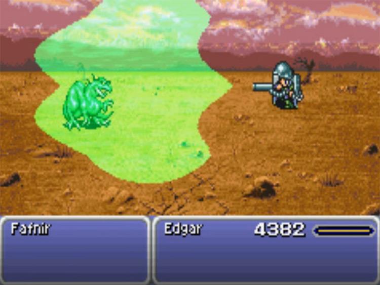 Bio Blaster FFVI Screenshot - Edgar's Tool