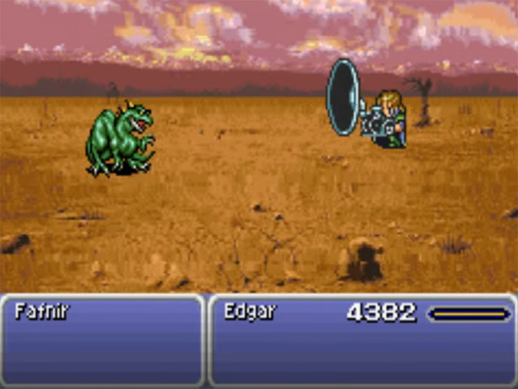 Noise Blaster in Final Fantasy VI